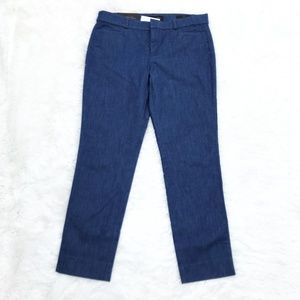 BANANA REPUBLIC Blue Sloan Fit Denim Pants Size 6